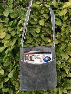 Sac Flo cousu par Marielle - modifié avec ajout de poches extérieures - patron Sacôtin