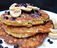 Banana Almond Pancakes (Improved Recipe!)
