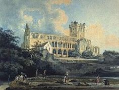 Jedburgh Abbey From The River 1798 Poster by Girtin Thomas. All posters are professionally printed, packaged, and shipped within 3 - 4 business days. Watercolor Landscape, Watercolour Painting, Watercolors, Watercolor Artists, Watercolor Techniques, Art Articles, American Artists, Great Artists, Watercolor Paintings