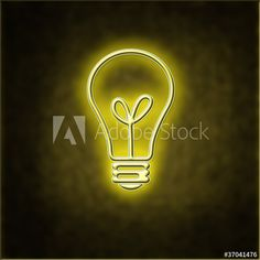 Glowing bulb indicating an idea - Buy this stock illustration and explore similar illustrations at Adobe Stock | Adobe Stock Adobe, Projects To Try, Glow, Bulb, Illustrations, Stock Photos, Explore, Stuff To Buy, Image