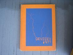"1977 Kingsborough Community College Yearbook ""Odyssey"" New York City"