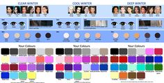 Как правильно выбрать цвет волос, подходящий под цвет глаз и кожи