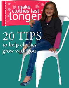 20 tips to extend the life of clothes