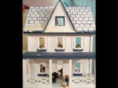 ▶ Como hacer una casa de muñecas con técnicas en papel - YouTube