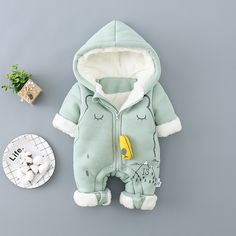 Check out my new Cute Bear Fleece Lining Hooded One Piece for Baby, snagged at a crazy discounted price with the PatPat app. Baby Outfits Newborn, Toddler Outfits, Baby Boy Outfits, Kids Outfits, Baby Boy Fashion, Kids Fashion, Fashion Hats, Toddler Jumpsuit, Baby Kids Clothes
