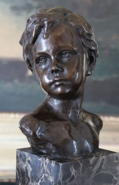 Little boy bust.