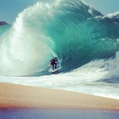 Definitely my dream to be able to skim this beautiful wave.