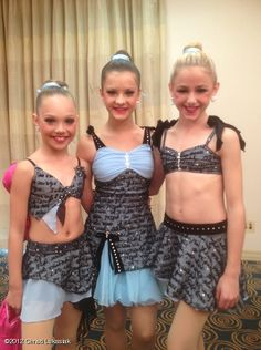 Love the Costumes but why do Maddie and Chloe have them that's Brooke's Anne Frank solo costume