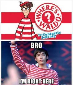 found him!! #TOP #BIGBANG