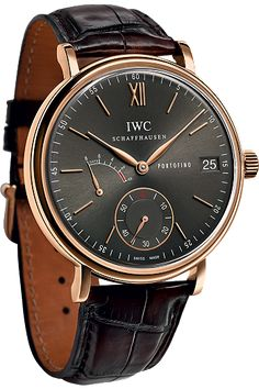 Portofino Hand-Wound Eight Day 18K Red Gold | IWC | Tourneau