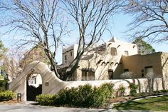 Typical architecture in Albuquerque.