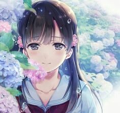 For all kinds of moe art. Especially cute anime girls and boys being cute. Content from anime, manga,. Anime School Girl, Cool Anime Girl, Beautiful Anime Girl, Kawaii Anime Girl, Anime Art Girl, Anime Girls, Me Anime, Chica Anime Manga, Manga Girl