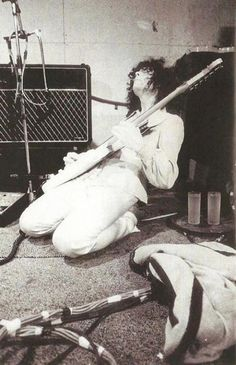 Jimmy Page. Never seen this one before.