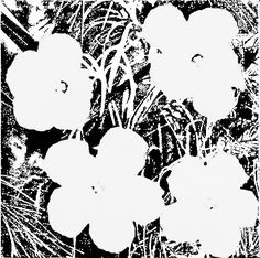 Andy Warhol Flowers, 1978 Acrylic and silkscreen inks on canvas 22 × 22 inches × cm) © 2017 The Andy Warhol Foundation for the Visual Arts, Inc. / Licensed by Artists Rights Society (ARS), New York Pop Art Andy Warhol, Andy Warhol Flowers, Art Books For Kids, Art For Kids, Kid Art, Kindergarten Art, Preschool Art, Art Floral, Artists