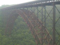 Family Vacation 2013 New River Gorge Bridge!