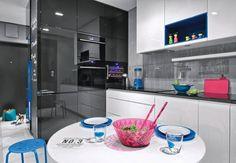 Zdjęcie numer 13 w galerii - 14 sposobów na nowoczesną ścianę nad kuchennym blatem