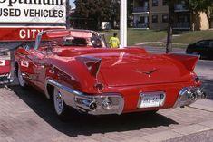 1957 Cadillac Eldorado Biarritz convertible https://www.hemmings.com/blog/2013/03/29/first-1957-cadillac-eldorado-biarritz-sells-for-649000/