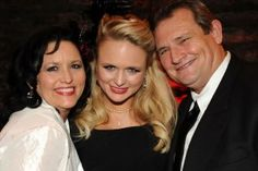 Miranda Lambert with parents Beverly & Rick Lambert