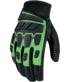 ICON Hooligan Glove - Green