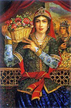 Hojatollah Shakiba - Part Persian Colonial Miniatures Gallery Renoir, Matisse, Jean Leon, Empire Ottoman, Gabriel, Cultura General, Art Optical, Persian Motifs, Persian Culture
