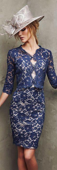 Pronovias 2016 women fashion outfit clothing style apparel @roressclothes closet ideas