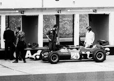Jackie Oliver - Lotus 48 Cosworth FVA - Lotus Components Ltd - XXIX Grosser Preis von Deutschland 1967 - F2 Class - © Reilbach