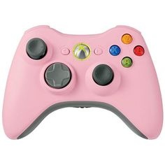 Xbox 360 Wireless Controller Pink Microsoft https://www.amazon.com/dp/B000VSDON6/ref=cm_sw_r_pi_dp_x_ISHeAb2QHA5BW
