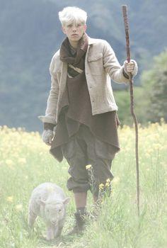 mori boy - the lamb is so adorable!