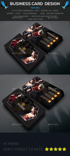 Photography Business Card — Photoshop PSD #film #psd • Available here → https://graphicriver.net/item/photography-business-card/14452390?ref=pxcr