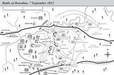 Battle of Borodino map - Battaglia di Borodino - Wikipedia