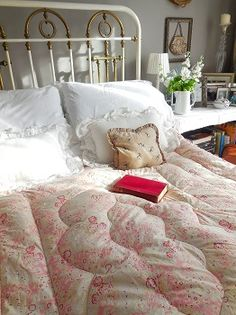 I'd like this eiderdown on my bed.