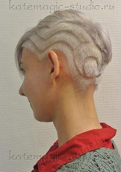 многоступенчатые стрижки на средние волосы