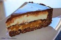 Karamellás-túrós-csokis keksztorta Cookie Desserts, Cookie Recipes, Dessert Recipes, Cheesecake, Food Porn, Recipes From Heaven, Winter Food, Cakes And More, Sweet Recipes