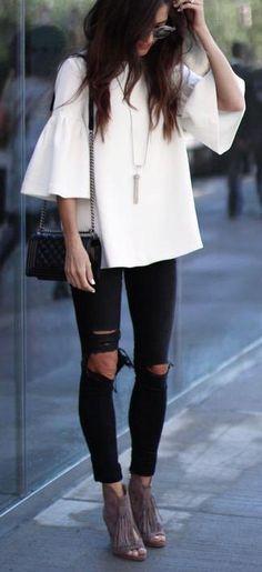 black + white minimal style.