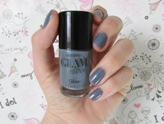 Unha da semana: Cinza Casual | Glam by Lexa - Bioderm