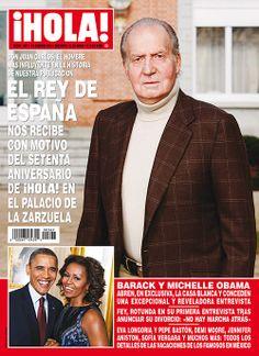 En ¡HOLA!: El Rey de España nos recibe con motivo del 70 aniversario de la revista en el palacio de la Zarzuela