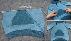 HAZIR GÖRÜNÜMLÜ EN DETAYLI AÇIKLAMALI ÇOCUK KAZAK TARİFİ Crochet Baby, Crochet Bikini, Knit Crochet, Baby Knitting Patterns, Knitting Designs, Picnic Blanket, Outdoor Blanket, Detaille, Knitwear