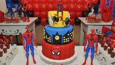 Mamães, confiram no blog Mamãe Prática estsa festa infantil do Homem Aranha! Mais fotos aqui: http://mamaepratica.com.br/2014/11/05/festa-do-homem-aranha/ Spider man party