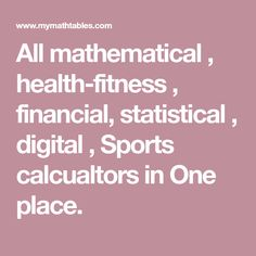 All mathematical , health-fitness , financial, statistical , digital , Sports calcualtors in One place. Math Division, Multiplication And Division, Ways Of Learning, Student Learning, Table Quiz Questions, Times Table Chart, Math Tables, Multiplication Chart, Online Calculator