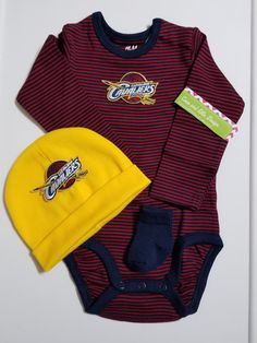 Adidas Lebron James Cleveland Cavaliers Infant Wine Replica Jersey