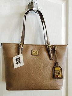 Anne Klein Perfect Tote in Taupe (New) #AnneKlein #TotesShoppers