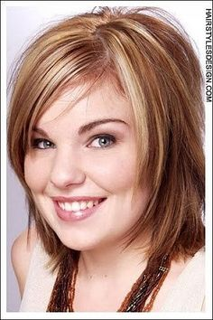 Women Round Fat Face Hairstyles
