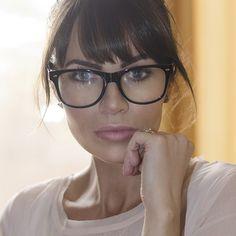 Nerd Alert! Makeup with glasses