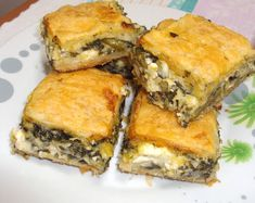 Greek Cooking, Appetisers, Spanakopita, Mediterranean Recipes, Greek Recipes, Snacks, Eat, Ethnic Recipes, Ethnic Food