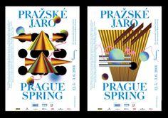 Pražské jaro se pyšní novými vizuály / design / Font