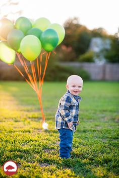 Boy's 1st Birthday Portrait