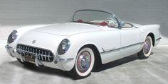 white '54 Corvette    Google Image Result for http://www.vettefacts.com/images/1954-white-convertible-corvette.jpg