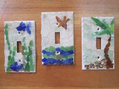 Decorative Light Switch Plates Covers by OceanChildTreasures