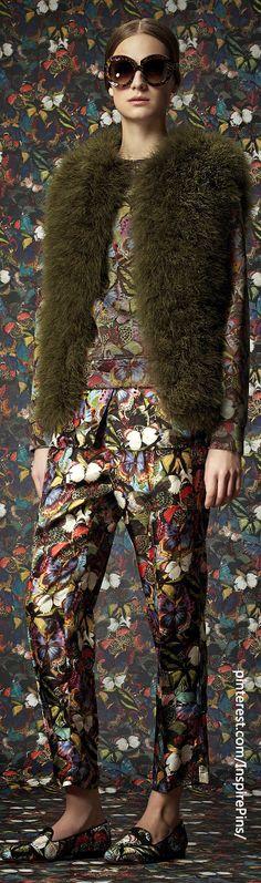 Glamour| Serafini Amelia| Farb-und Stilberatung mit www.farben-reich.com - Pre-Fall 2014 Valentino