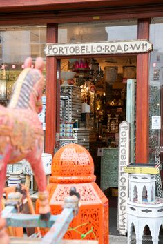 Shop on Portobello Road, Notting Hill, London
